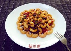 黑椒牛柳炒意粉