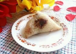 传统红豆沙粽子