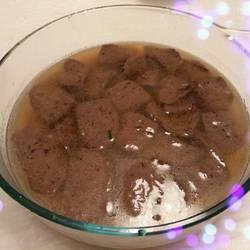 鲜美鸭血汤
