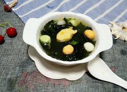 螺旋藻肉丸汤