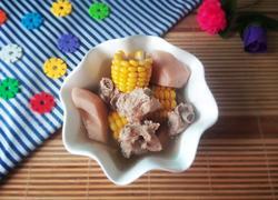 排骨玉米莲藕汤