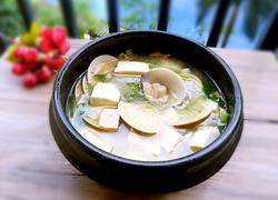 豆腐蛤蜊汤