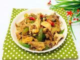 青辣椒炒鸡肉的做法[图]