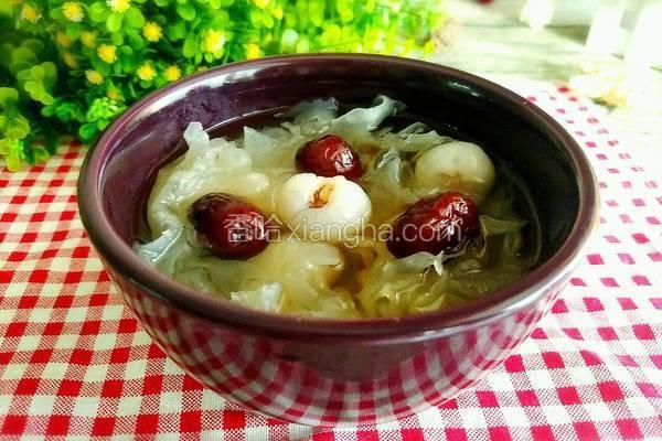 银耳桂圆红枣汤