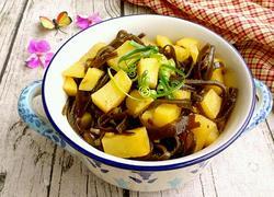 土豆炖海带