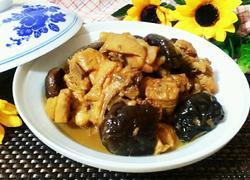 香菇黄焖鸡
