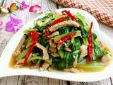 肉炒小白菜的做法[图]