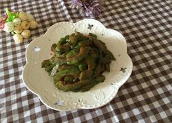 豆豉炒苦瓜