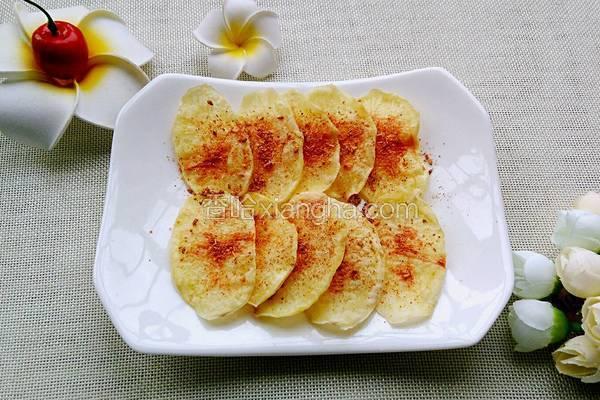 微波炉烤薯片