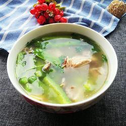 苦瓜龙骨汤
