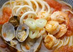 番茄海鲜面