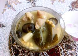 黄豆山药海带猪蹄汤