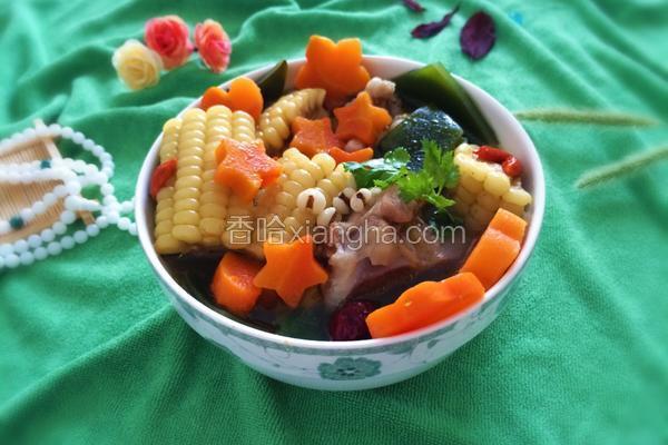 排骨海带玉米汤