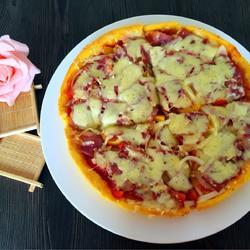 奶酪披萨的做法[图]
