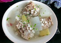 骨头薏米冬瓜汤