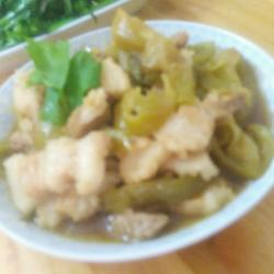 潮州菜 贡菜肚肉