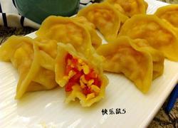 西红柿鸡蛋蒸饺