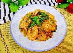 洋葱炒大虾