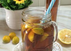 金桔柠檬茶。