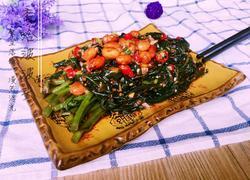凉拌紫背菜