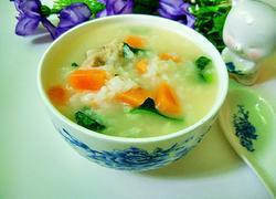 猪排骨胡萝卜蔬菜粥