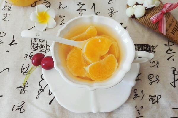 糖水橘子罐头