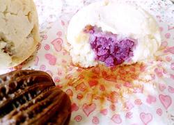 夹心紫薯蛋糕