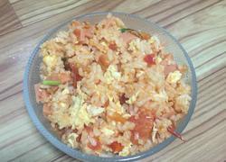 番茄鸡蛋炒饭