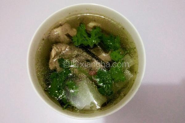 萝卜海带排骨汤