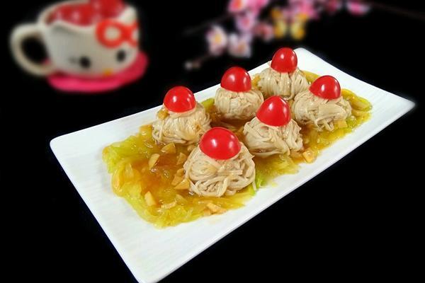 莴苣金针菇