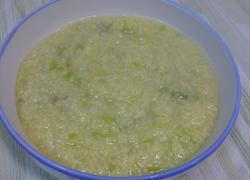 猪肉白菜小米粥