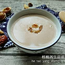 核桃养生豆浆