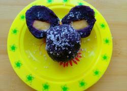 芒果紫薯球