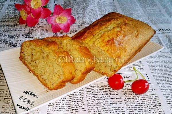 星巴克香蕉蛋糕