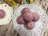 紫薯蛋黄酥的做法[图]
