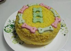 静~狗狗生日蛋糕