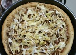 叉烧pizza