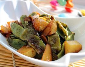 土豆炖豆角[图]