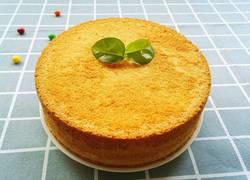 酸奶戚风蛋糕~八寸