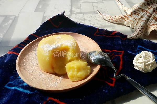 柠檬熔岩蛋糕