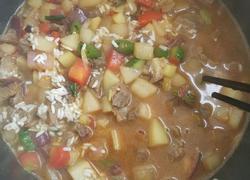 羊肉杂蔬米饭