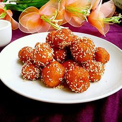 芝麻红薯丸