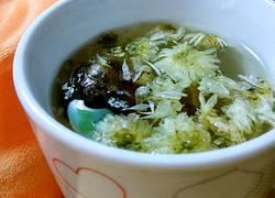 菊花胖大海茶