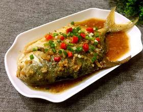 金蒜鲳鱼[图]