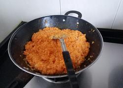 甜味南瓜炒糯米饭