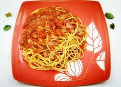 番茄培根意大利面