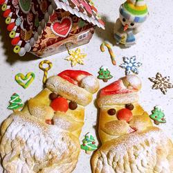 圣诞老公公面包