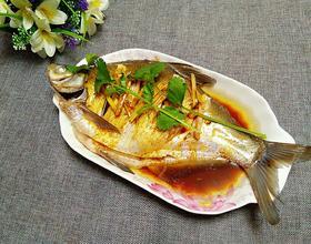 清蒸鳊鱼[图]