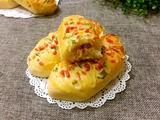 香葱火腿肉松面包(波兰酵种)的做法[图]