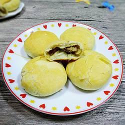 金黄肉酥饼